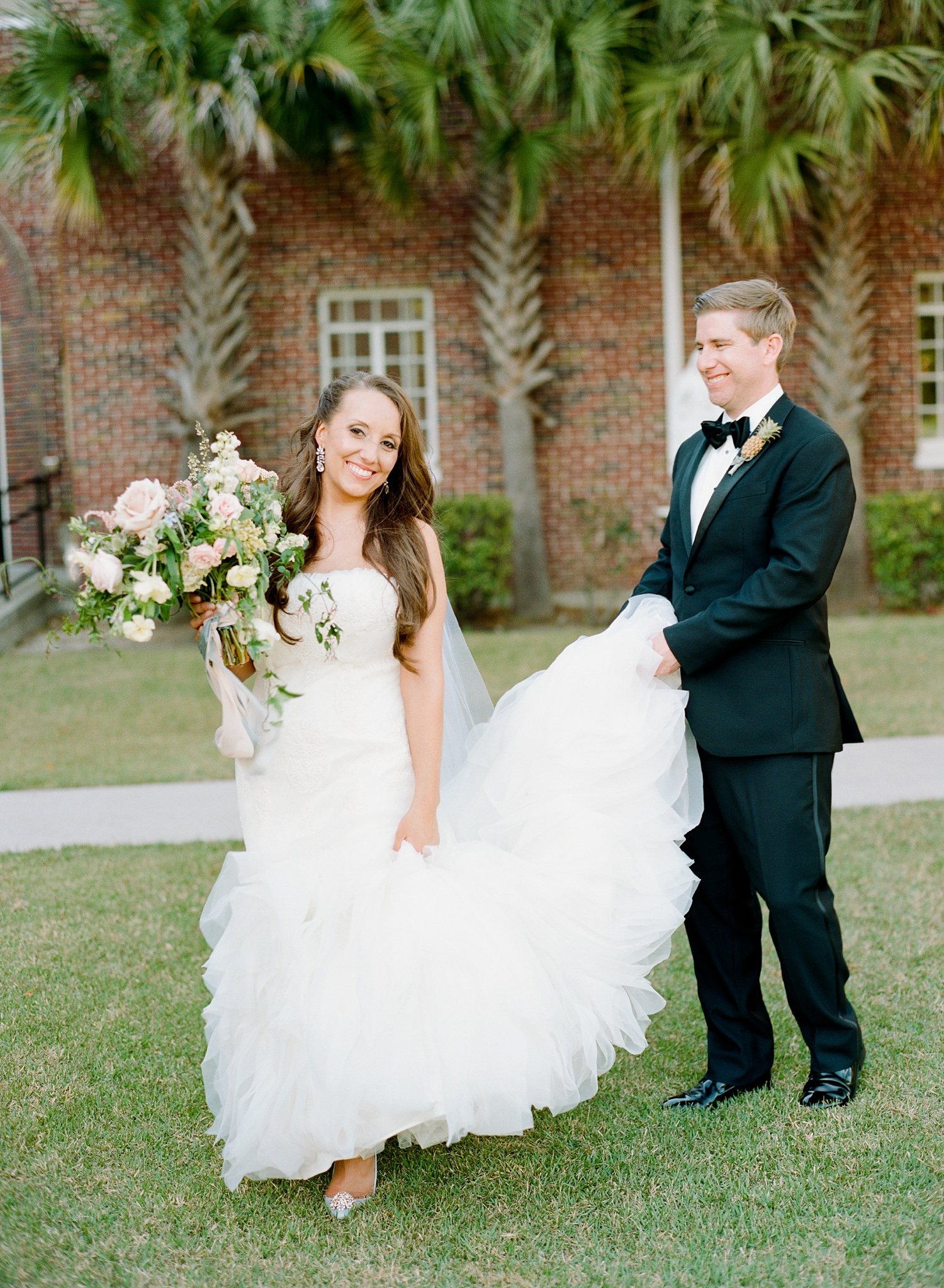 Jennifer And Clay Charleston Wedding At The Gadsden House